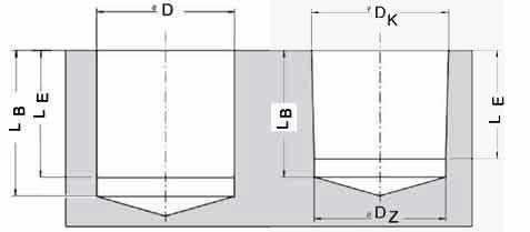 npt gewinde f r das fr sen vorbereiten. Black Bedroom Furniture Sets. Home Design Ideas